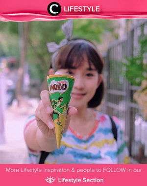 This Milo ice cream is delicious. Have you tried it? Simak Lifestyle Updates ala clozetters lainnya hari ini di Lifestyle Section. Image shared by Clozetter: @lindaleenk. Yuk, share momen favoritmu bersama Clozette.