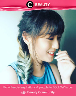 Fishtail braid + dye hair. Simak Beauty Updates ala clozetters lainnya hari ini di Beauty Community. Image shared by Star Clozetter: @hisafu. Yuk, share beauty product andalan kamu.
