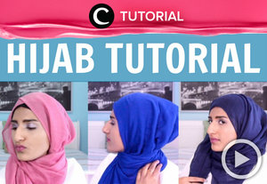 There're  so easy hijab tutorial to upgrade your style for daily look. See the tutorial, here http://bit.ly/2iXWXcX. Video ini di-share kembali oleh Clozetter: kyriaa. Cek Tutorial Updates lainnya pada Tutorial Section.