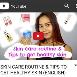 Good Morning Beauties,  Our skin face is our investment, so it is really important to know the right product to help our skin to be healthy.  In my new video I share with you my fav skin care routine and also tips how to get a healthy skin.  Please watch my video by click'ing d link on my Bio, and dont forget to subscribe. You cam also ask me anything related to beauty and makeup 😉  Have a wonderful day beauties... Love, C  #indonesianlivinginbangkok #youtube #youtuber #indonesianyoutuber #skincare #skincareroutine #healthyskin #althea #altheakorea #laneige #skii #clinique #beautyreview #clozetteid #starclozetter #instabeauty #instagram
