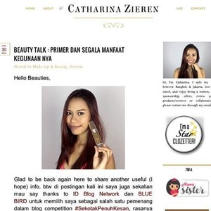 Ahhhhhhhhhh how I miss my blog soooo badly!!! ❤️❤️❤️❤️❤️ I WILL BE BACK!! Very soon... come with much more informative content about beauty and ofcourse MAKEUP (and travel a lil'bit) 😊  So I open already for Collaboration-sponsorship-endorsement or any work on Makeup.  Pssstttt... gonna start my Youtube also soon 😉❤️🙏💪🏼🎉 #indonesianbeautyblogger #makeupartistbasedinbangkok #muajakarta #muaindonesia #makeupartistbasedinbangkok #starclozetter #clozetteid #makeup #beautyblogger #makeuplover #makeupartist #bangkok #thailand #jakarta #indonesia #internationalmakeupartist #fantasymakeup #indonesiablogger #bloggerindonesia