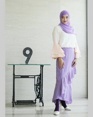 Attending my friend's wedding with this Alya Top from Haba by @bel.corpo love the ruffles🐰🐰..#invitation #ceremony #instawedding #instastyle #instalooks #instagood #instamood #instagram #happydays #fashion #bloggers #fashionposts #style #stylista #stylehijab #styleicon #purplelook #purples #lookbooklookbook #ootd #ootdhijabindo #hotd #hijaboftheday #hijab #vsco #vscocam #belcorpo #clozetter #ClozetteID #FindItOnZalora