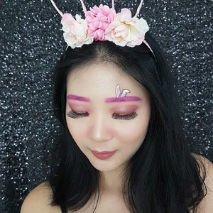 Here makeup details for this look 👯 . 🌸Face @thebodyshopindo Fresh Nude Cushion Foundation @makeoverid Translucent Powder @lagirlindonesia Pro Conceal Concealer @beccacosmetics Shimmering Skin Perfector @toofaced Perfect Flush Blush @makeupforeverid Sculpting Kit . . 🌸Brow @mehronmakeup Paradise Makeup Prisma . 🌸Eyes @makeuprevolution @beautycreations.cosmetics . 🌸Lashes @artisanpro . 🌸Lips @pixycosmetics . . #luellablog #luellamakeup #eastermakeup #eastermakeupideas #kbbvbeautypost #tampilcantik #indobeautygram #bvloggerid #beautiesquad #clozetteid #kbbvmember #bloggerindonesia #bloggerindo #indobeautysquad #bblifestyle #beautybloggerindonesia #beautybloggerbandung #setterspace #bloggerbandung #muabandung #muaindonesia #bloggermafia