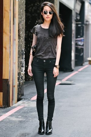 Internet Inspiration - Casual yet trendy outfit.