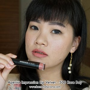 Aperire Impression Lip Velvet 500 Rose Bay https://youtu.be/ibtUg6_1Alo