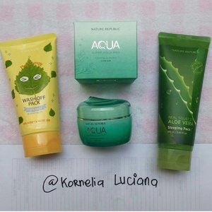 Halo semuanya, aku lagi mau jual beberapa produk skincareku nih dalam rangka bersih2 lemari hihi.Semua Preloved ya ^_^4. Etude House Play Therapy Wash Off Pack Brightenig Up, 75% 50.0005. Nature Republic Super Aqua Max Combination Watery Cream, 98%, 120.0006. Nature Republic Real Squeeze Aloe Vera Sleeping Pack, 98%, 80.000Pemesanan bisa langsung contact ke :Line : kornelialuciana atau DM ke ig ini juga boleh ya 😉Pengiriman dari Magelang hanya dengan Jasa JNETransfer hanya melalui BCASiapa cepat siapa dapat ya, no sistem booking. Harga belum termasuk ongkir ya girls 😉.Thanks#clozetteid #preloved #jualpeeling #jualpreloved #prelovedskincare #skincarekorea