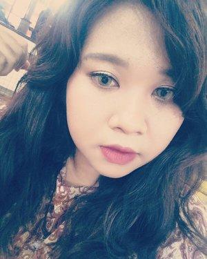Lama gak posting selfie. Nih. Muka berfilter.  #selfie #selca #me #pretty #likeseriouslypretty #lol #ClozetteID #instagood #instamood #💁