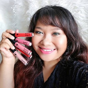 Have you seen my review? And have you ever see me wearing this kinda pink lippie? It's a very rare moment in my life that I found a perfect nude/pale-ish pink color that suits my skintone. I'm wearing Pink Up Line! @eternallybeauty have a small but unique range of shade. Don't forget to click the link on my bio to visit my review about this lip cream!! . . #sbbxodessacosmetics #sbybeautyblogger #sbbreview #eternallybeauty #odessacosmetics #mattelove #makeupjunkie #🌹 #makeover #ClozetteID #beautyblogger #beauty  #indonesian #bblogger  #instamakeup  #instabeauty  #beautybloggerid #setterspace #beautybloggersurabaya #surabayabeautyblogger #indonesian