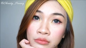 Tutorial makeup untuk lebaran yang simpel dengan produk lokal dan drugstore.. Face: Pond' instabright tone up cream Maybelline fit me foundation dewy Wardah concealer double function kit Pond's Magic Powder  Eyes: QL Eyebrow Gel Sariayu eyeshadow pallette Maybelline hyper impact eyeliner  Countour: City color effect pallette  Purbasari daily blush on  Lip: QL lipcream matte prime rose  #shantyhuang #beauty #beautyblogger #blogger #makeuplebaran #lebaran #makeupkorea #instadaily #clozettedaily #clozetteid