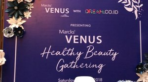 Teaser acara Venus Beauty Gathering kemarin. Thank you @venuscosmeticind and @dreamcoid for having me 💕💕 #bblogger #bloggerstyle #bloggersgetsocial #beautybloggerid #clozetteid #bloggerbabes