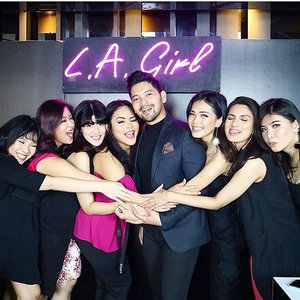 Yes we love @rama_jee so much💖💖💖💖💖💖congrats for being @lagirlindonesia Brand Ambassador#lagirlcosmetics#lagirlindonesia