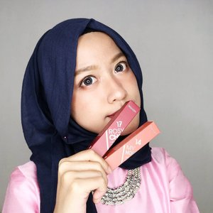 2 of 6 new colors from @wardahbeauty Lip Cream1. My Honey Bee2. Rosy CheekWhich one suits me well?...#colordategathering#clozetteid #ootd #beauty #indobeautygram #beautyblogger #beautynesiamember #dailymakeup #blogger #indonesianbeautyblogger #indonesianfemaleblogger #bloggerperempuan #아름다움 #구성하다 #charisceleb #flower #lipcream #wardah