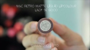 Just tried #MACCosmeticsID Retro Matte Liquid Lipcolour in shade Lady be Good 💄. Love the shade from the first sight, perfect warm nude for a 'nudist' like me 😍. First impression - I really think it's awesome, because: .The shade is really pretty .The formula is great; light, doesn't emphasize my lip lines, buildable, pigmented -one layer is enough to cover my lip color .Doesn't dry my #lips, my lips are already chapped before application but it didn't make it worse .Transfer-proof! 💋 .Awesome staying power!  This video is my submission for #MACRetroMatte #MakeItMatteLivJunkie #giveaway held by @livjunkie  Wish me tons of luck because I'm dying to try another shades 😘  #MakeitMatteID #LYKEambassador #clozetteID #Clozettedaily #beauty #lipswatch #beautyblogger #asianbeautyblogger #indonesianbeautyblogger #beautybloggerindonesia #makeup #wakeupandmakeup #makeupaddict #pinkhair