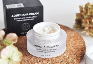 I kinda picky in the terms of choosing moisturizer since I have oily, sensitive and acne-prone skin. And I tend to avoid rich ingredients cream.  But this @jonecosmetic Hana Cream has impressed me, it has dramatically improved my troubled skin texture.. find out how on my #vlog (#linkinbio)  #jonecosmetic #sephora #hanacream #antiwrinklecream #pearlcapsule #moisturelizingcream #koreabeautybrand #koreanskincare #whitening #brightening #wrinklecare #LYKEambassador #ClozetteID #clozettedaily #beauty #beautyreview #koreanbeauty #skincarejunkie #beautyblog #beautyblogger #beautyvlogger #bloggerbabes #asianbeautyblogger #bloggerceria @bloggerceriaid #bblogger #whywhiteworks