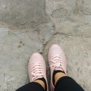 New Mood ❤ -- Inframe : Pink Sneakers by @adorableprojects -- #clozetteid