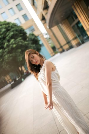 Kerene Jesica: WHITE ON WHITE OOTD (MY INNER PIECE)
