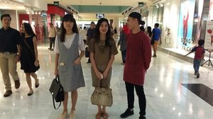 #whatweweartoday @cheriaprasetyo @thomas.prasetyo  #clozetteid #ootd #weekend #iphonesia