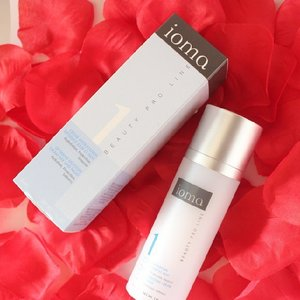 new review on the blog!! super hi-tech skincare I ever tried *lol*  IOMA Beauty Pro Line 1, read here girlsweethings.blogspot.com  #review #IOMA #IOMAPARIS #skincare #bbloger #clozetteID #clozette #beautyblogger