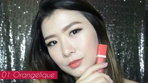 New video is up on my youtube channel! It's about Lip Swatch & Review @bourjois_id Souffle de Velvet Rouge Edition 💄 Full version link on bio 😋 Thanks to @katherinlakz for helping me to take some shoot 🎥 #clozetteid #lipswatch #swatchandreview #bourjoisid #souffledevelvet #ggrepstyle #ggreptrend #looksmagazine