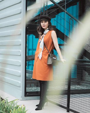 Something vibrant something bright, wearing @ramuneshop vest as dress 👗 #clozetteid #looksootd #cgstreetstyle #ggrep #lookbookindonesia #lykeambassador #lykeshopmystyle #Lyke_wulanwu