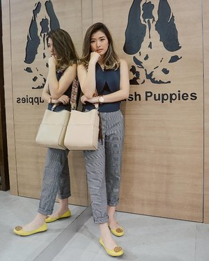 From yesterday's great time at the Store Reopening of @hushpuppiesid Tunjungan Plaza 6 Surabaya, shoes and bags are from @hushpuppiesid 🐶🐶 #hushpuppiesid #grandopeningTP6 #tunjunganplaza6 #clozetteid #Lykeambassador