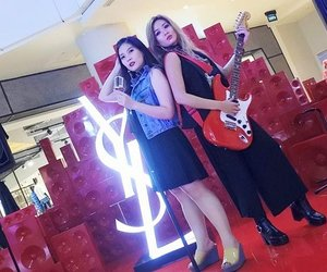 "I had so much fun with my lovely sisterrrrr at YSL POP UP  Store😘😘😘😘. for the relaunch of Vernis a Levres. Personalized our lipstick with the engraving service, took loads of pictures at the Soundwall and had fun the YSL Beauty Virtual Reality! 😍😍💖💖💖. Bring out our ""Rock"" soul 😁💖. .Psssstttt... i have some SURPRISE for you.😍😍. . . .  Here's how to win an invite to the biggest party in town & YSL BEAUTY goody bags: Visit YSL Beauty Pop Up Store at Central Atrium, Grand Indonesia, East Mall, Level 1.  Take pictures of your black rock chic OOTD together with your sister (or sister from another mother 😉. At the Soundwall area and upload it on both of your Instagram accounts. Put #SASYACHIxYSLBEAUTY #MyLipVibes #YSLBEAUTY and tag @cerita.cantik on the caption. Together with a story about your sister and her IG account. .  Lucky sisters will get to have a beauty date to The Biggest Party In Town, YSL Beauty Club, on October 13th 2017, at ON FIVE Grand Hyatt Hotel Jakarta!  You have until 1st October 11.59 PM to upload your photo.  On 3rd October 2017 @cerita.cantik will announce the winners on their IG account. Good luck ladies !!! 😍😍😍😍💖💖💖 . . . . . . . . . .#mylipvibes #yslbeautyid #yslbeauty #yvessaintlaurent #makeup. #indobeautygram #beautyblogger #beautyvlogger  #makeup #makeupjunkie #ibv #ivgbeauty #indovidgram #eyeshadow #lips #looks #makeupinspiration #makeupinspo #makeuptutorial #indobeauty  #undiscoveredmua #makeupsfx #indobeautyinfluencer #beautyinfluencer #clozetteid #beautynesiaid #beautynesia #bvloggerid"