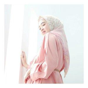 #HanamiScarf Pink 💖 #larasatiiputristyle #hijabstyle #hijabdaily #clozetteid #clozetteambassador