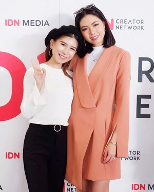 Thanks cii @olivialazuardy have shared stories about valuable science. And thank you too @idn.creatornetwork for inviting me 🖤 . . . #idncreatornetwork #idnroadshow2018 #beautybloggerindo #bdgbeautyblogger #beautybloggerindonesia #bandungbeautyblogger #makeuptutorial #ootdstyle #style #styleblogger #fujifilm #fujifilmxa5 #makeuplook #makeup  #ggrep #clozetter #clozetteID #fashionblogger #bloggerstyle #bloggerfashion #bloggermafia #ootdfashion #ootdstyle #influencer  #influencerstyle #charisceleb #indobeautygram