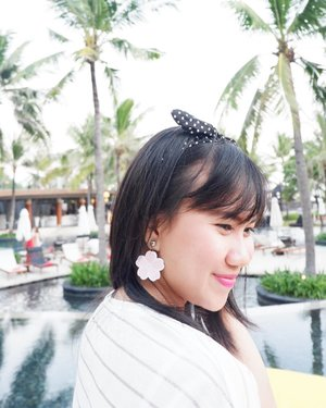 coming soon with new collection 🌸@ummikhairani 📸@imeldayhaya . #wheninbali #balilife #wseminyak #woobarbali #seminyak #goodvibes #holiday #vacation #playwithhappy #eatwithhappy #ootd #youxcottonink #handmadeearings #ajourneytowonderland #changedestiny #dearbeautylove #clozetteid #july #2017