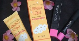 SKINAZ Perfumed Hand Cream Camomile Flower review