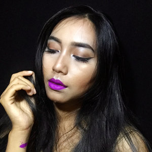 Embrace yourself with the right lipstick 💋  I use @makeupforeverid artist liquid matte 501 purple  it has sooooo good texture, so pigmented, dont crack on my lips dan ga kering juga di bibir, ini berasa ga make lipcream matte masa, ga kaya lipcream matte kebanyakan. ... ... ... ... #bvloggerid @bvlogger.id #clozetteid #setterspace @setterspace @itsmylookbook #beautiesquad @beautiesquad #indonesianbeautyblogger @beautybloggerindonesia #muajakarta #flawless #flawlessmakeup #beautywithnorules #cosmetics #face #highlighter #makeuptutorial #makeuplife #makeupartistworldwide #makeupgoals #makeuptips #makeupfun #makeupporn #mualife #featureme #makeupfeatures #beauty #makeupenthusiast #makeupaddict #makeuplook #makegirlz #wakeupandmakeup #indobeautygram #fff