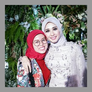 Happy ya be ❤❤❤❤.....#ceritaraju #bellaemranwedding #BAE #clozetteid #bandung #wedding