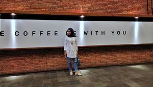 May The Coffee Be With You....#ClozetteID #Hijab #ootd #hijabblogger #Lifestyle #IndonesianBlogger #likeforlikes