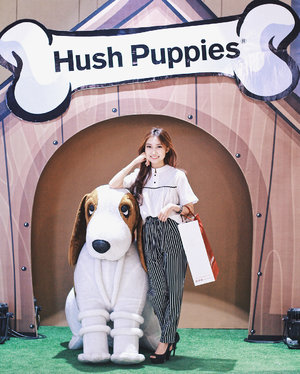 Congratulations @hushpuppiesid for the re-opening store at @tunjungan_plaza TP6! 🎉 Also thank you everyone for coming 💖 #hushpuppiesid #clozetteid #lykeambassador
