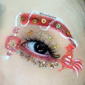Gong Xi Fa Cai 🐔🎉🎉🎉🎉 MUA Luxe Velvet in atomic @kutekmurahNABI matte in Red RedExpert Loose gLitter in Bronze@bhcosmetics Take Me To Brazil@nyxcosmetics_indonesia JEP in Milk@mehronmakeup Paradise AQ  #eotd #fdbeauty  #clozetteid  #makeupartistworldwide #sincia #anastasiabrows #ivgbeauty #makeupclips  #nyxcosmetics #chinesenewyear2017 #makeuplover #wakeupandmakeup #dressyourface #indobeautygram #makeupaddict  #amazingmakeupart #anastasiabeverlyhills #undiscovered_muas #indovidgram #tutorialmakeup#makeupvideo #bhcosmetics #discover_muas  #suvabeauty #beautygram #beautyvlog #hypnaughtymakeup #chinesenewyear #lunarnewyear