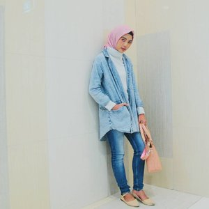 Denim day 👖  #ClozetteID #hijabootdindo