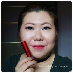 Swatch: @fanbo Matte Lipstick F08 Pretty Salem *** Full review go to www.liamelqha.com or bit.ly/liamelqha-mattefanbo. Video's link on my bio! *** #BeautiesquadxFanbo #Beautiesquad #FanboCosmetics #lipstickmattefanbo #blog #liamelqhadotcom #JourneyAboutMakeup #blogging #blogger #bloggingmom #BloggerPerempuan #KEB #KumpulanEmakBlogger #ClozetteID #IndonesiaFemaleBlogger #SociollaBlogger #KBBVmember #batambeautyblogger #batamblogger #indonesiabeautyblogger #beautybloggerindonesia #review #tips #tutorial #beautyjunkie #beautyenthusiast #makeupjunkie #makeupenthusiast