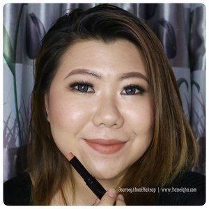 @eternallybeauty Odessa Matte Lipstick 703-Redwood. ***** Reviewnya di blog 👉 bit.ly/EB-Liamelqha di youtube jg ada lho 👉 https://youtu.be/CdlRl5VHhwE (klik bio) ***** #EternallyBeauty #OdessaCosmetics #blog #liamelqhadotcom #JourneyAboutMakeup #blogging #blogger #bloggingmom #BloggerPerempuan #Beautiesquad #KEB #KumpulanEmakBlogger #ClozetteID #IndonesiaFemaleBlogger #SociollaBlogger #KBBVmember #batambeautyblogger #batamblogger #indonesiabeautyblogger #beautybloggerindonesia #review #tips #tutorial #beautyjunkie #beautyenthusiast #makeupjunkie #makeupenthusiast