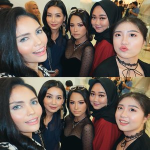 #throwback last Sunday with these pretty girls at @nyxcosmetics_indonesia Face Awards 2018 event💋✨..#nyxcosmetics #clozetteid #nyxcosmeticsid