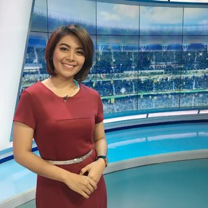 I'll be back this evening with my lovely program #kompassportpetang , don't missed it babes 😘#clozetteid #host #presenter #sportpresenter #sporthost #hostsport #kompassport #kompastv #presenterlife #presenterindonesia #beautyjunkie #fdbeauty #femaledaily