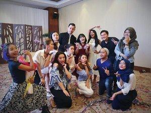 Full team @beautyboundasia 2017 💋💋. - #beautyboundasia #changedestiny #skii #clozetteid #clozetteambassador #instalike #vlog #vlogger #blog #blogger #beaautyblogger #beauty #skincare #indonesia #makeupaddict #skin #skincareaddict #challenge #indonesia