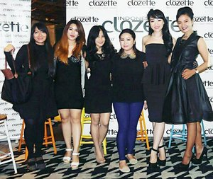 Yayy! #clozetteambassadors gathering at #clozetteparty2016 😘😘😘😘😘 #clozetteID #clozetteambassador #party #fashion #royalblackdress #dress #fashion #beauty #beautiful #girls #fashionblogger #beautyblogger #lifestyle #blackdress @clozetteid