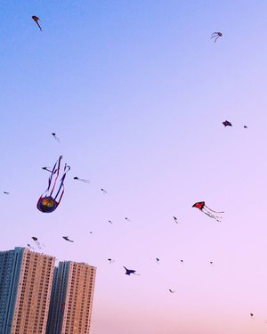 Anger. You only need one anger to take your self down. From Surabaya Internasional Kite Festival 2017 #anger #down #dragonfly #skyporn #sunset #twilight #city #surabayakitefestival2017 #surabayainternationalkitefestival2017 #exploreSurabaya #kitefestival #kite #layanglayang #event #lifestyle #photooftheday #pictureoftheday #surabaya #wonderfulIndonesia #pesonaIndonesia #travel #traveling #traveler #clozetteid #instanusantara