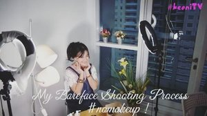 #sneekpeek my bareface #nomakeup shooting process. Yeah! It used to be full make up when it comes to shoot process, isnt it right? But this one I have to face the bareface kind😆 #shooting #camera #advertisement #bareface #beauty #product #beautynesia #beautynesiamember #fashion #lifestyle #girl #infrontofcamera #action #behindthescene #clozetteid #clozetteambassador