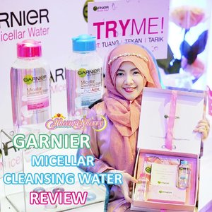 🍒 ماشاءالله، تبارك الله 🍒 .[NEW BLOG IN 🇮🇩🇬🇧] BUAT YANG SUKA MAKEUPAN, BACA YA! 😻Cleansing Makeup is even EASIER for me now!!! I gave rating 5/5 for this product, Garnier Micellar Cleansing Water from @garnierindonesia !!! 😻😻😻😻 CLICK THE LINK IN MY BIO TO FIND OUT WHY I LOVE THIS PRODUCT! MUST READ! .🐰🌙 www.sheemasherry.com 🐰🌙