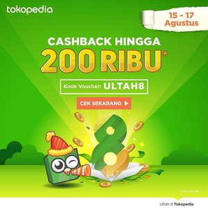 Whoopsiee!! Any late owl here? Maybe today is your lucky day 🍀 cause it's @tokopedia 8th anniversary celebration and they are giving out cashback up to 200k ❤️❤️❤️ mark your calendar and don't miss out!! More about it on the blog! Spread the good news beautiful people... . . - HAPPY SHOPPING 🛒 Direct link on my bio 🔝 . . . #tokopedia #shopping #AD