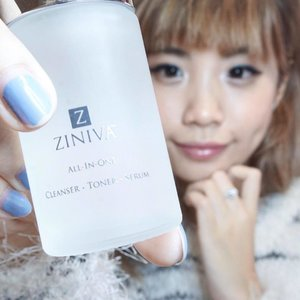 Have you heard of this @zinivaindonesia all-in-one cleanser, toner and serum? This is a product formulated by a dermatologist in US. It claims to be able to brighten and make our skin glow from within.  Now you can skip the lengthy skin care steps with this Ziniva product, if you're the ones that hate long and lengthy skin care process this is a good option for you. However this is not made as a makeup remover cleanser so once you've washed your face you're supposed to swipe this product all over your face to make sure no dirt residue reside on your skin to maximize the preparation of your skin to absorb the next skin care in line( such ad moisturizer). I've tried incorporating this on and off for the past few weeks now and yes, I do feel it helps my skin to feel smoother and look more supple and glowing... you can get them now at all @sephoraidn stores❤️❤️❤️ . . . - This product is also said that it can even help acne skin to heal completely and become all smooth and glowing.. however they say the purging process was kind of painful as this skin care is no instant magic it's slow but steady... but if you're experiencing severe acne and looking for a gentle approach to heal from the roots try this out. #sephorid #sephoraidnbeautyinfluencer #SteviexSephoraIDN #skincare