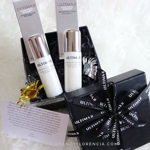 Give the special gift for your special skin ✨ - Find out more soon at my blog : www.brancyflorencia.com - @ultima_id @femaledailynetwork - #femaledaily #femaledailyreview #femaledailynetwork #ultimaii #ultimaii_id #medanbeautygram #indobeautygram #indonesianbeautyblogger #clozetteid #skincare #timelessbeauty #beautyundefeated