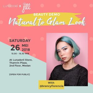 Hi guys! Khusus buat kalian yang di MEDAN, yuk datang ke store terbaru @lunadorii di @thamrinplaza 💖. . Akan ada makeup demo with @jillbeautycare 💖 . come and join us! Its FREE and OPEN FOR PUBLIC ! . . . . #beautyclass #beautydemo #Ivgbeauty #indobeautygram #beautynesiamember #clozette #clozetteid #lagirlindonesia #lagirl #lagirlcosmetics #beautyjunkie #beautyjunkies  #instamakeupartist #makeupporn #makeuppower #beautyaddict #makeuptutorial #beautyenthusiast  #makeupjunkie #makeupjunkies #beautyvlogger #wakeupandmakeup #hudabeauty #featuremuas #undiscovered_muas #solusicantik @solusicantik @indobeautygram