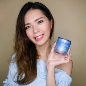 My all time favourite sleeping mask 💖 @laneigeid - Anyway, you can get 40% off when you shop by click the link on my bio. Happy Shopping ! 💖 - - - @mavenfulindonesia @laneige_kr  #laneige #laneigewatersleepingmask #sleepingmask  #laneigeindonesia #WaterSleepingMask #GoodMorningSkin #mask #mavenful  #beautynesiamember #clozetteid #indobeautyblogger #medanbeautygram #beautyblogger #skincare #skincarekorea #koreanskincare